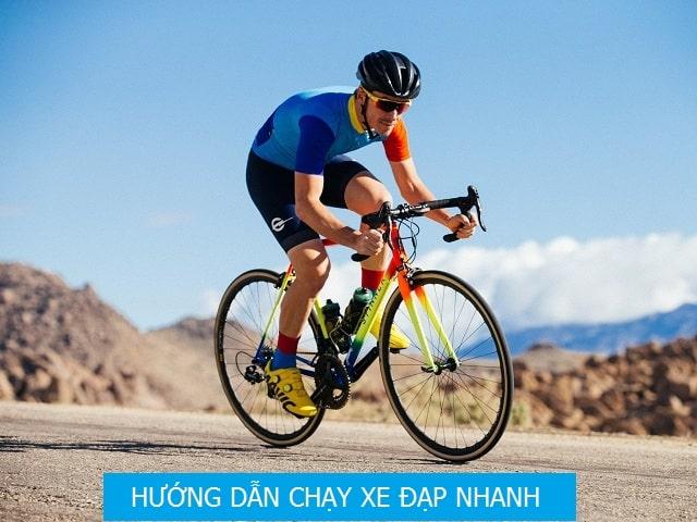 hướng dẫn cách chạy xe đạp nhanh
