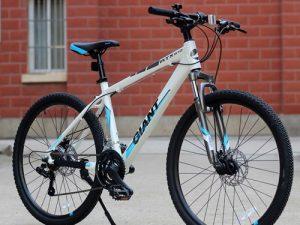 xe đạp Giant ATX 610 trắng-xanh