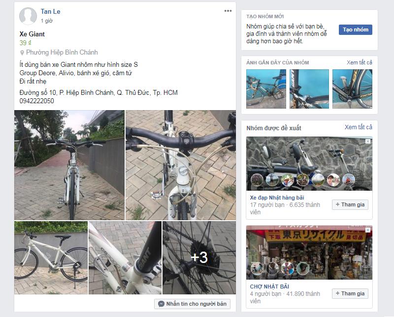 Group xe đạp