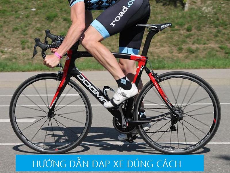 hướng dẫn đạp xe đúng cách