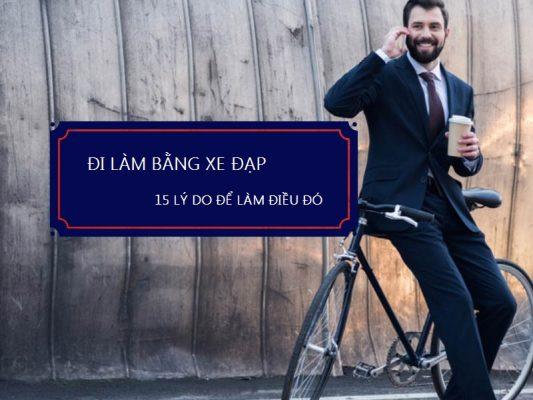 đi làm bằng xe đạp