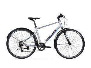 Xe đạp thể thao Jett Strada Pro 2017 bạc