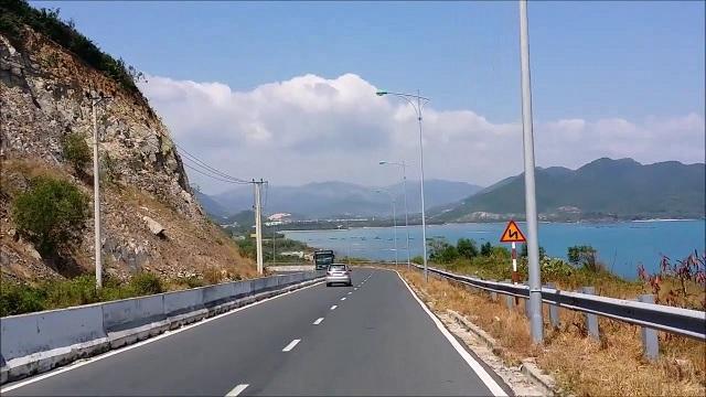 đường ven biển Nha Trang