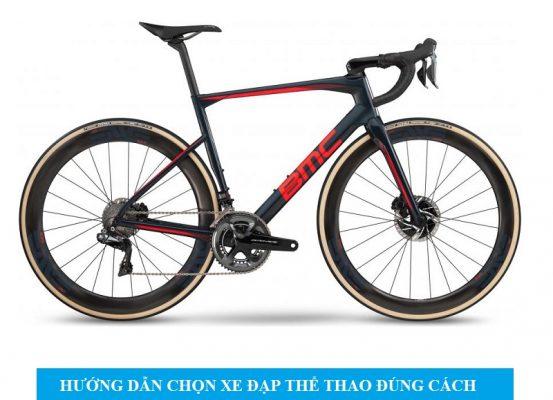 cách chọn xe đạp thể thao