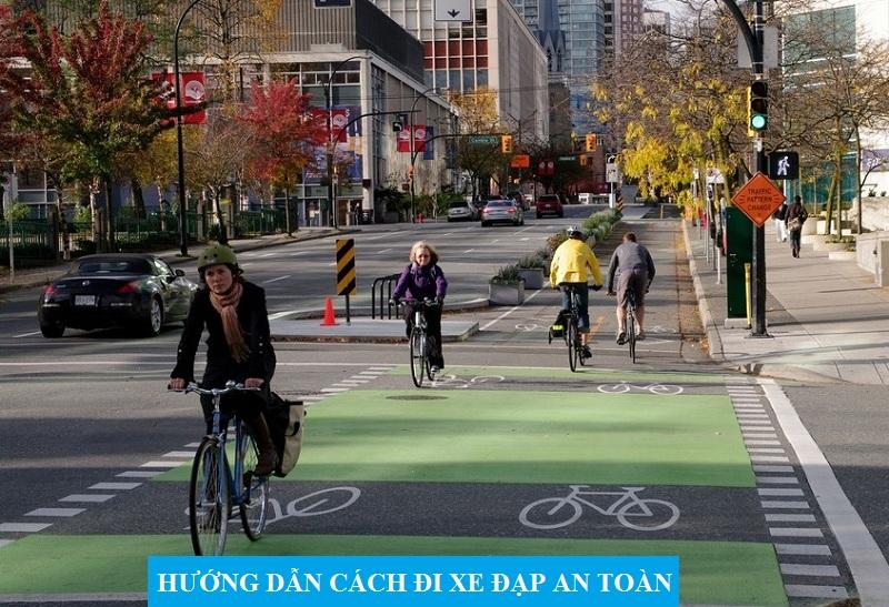 Cách đi xe đạp an toàn