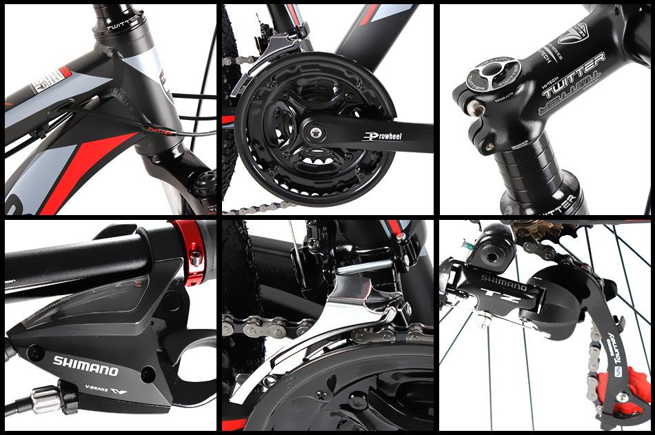 cấu hình xe đạp Twitter TW3000