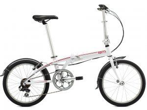xe đạp gấp tern trắng
