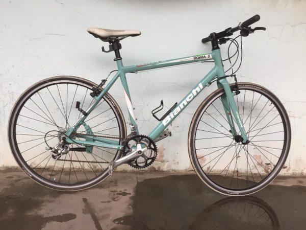 Xe đạp Touring Nhật bãi Bianchi Roma II