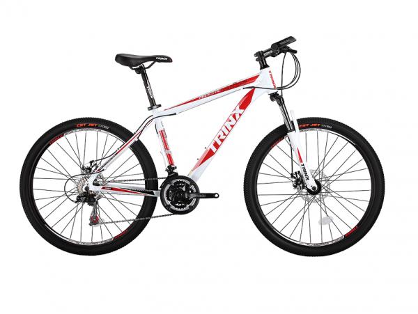 Xe đạp Trinx M136 màu trắng đỏ