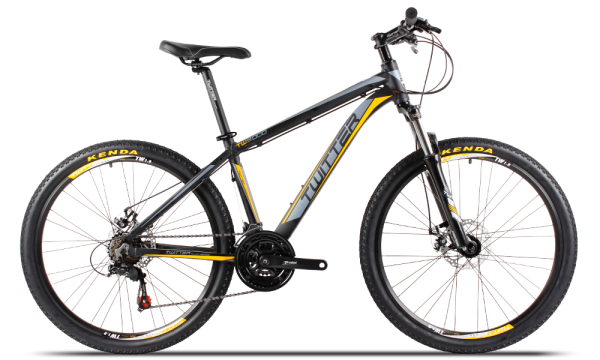 xe đạp Twitter TW vàng đen