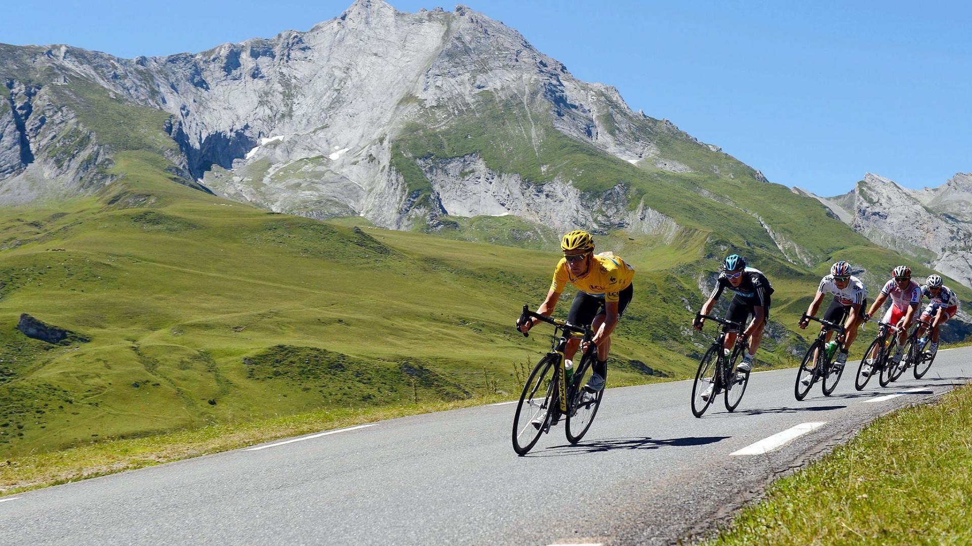 Hình ảnh đua xe đạp