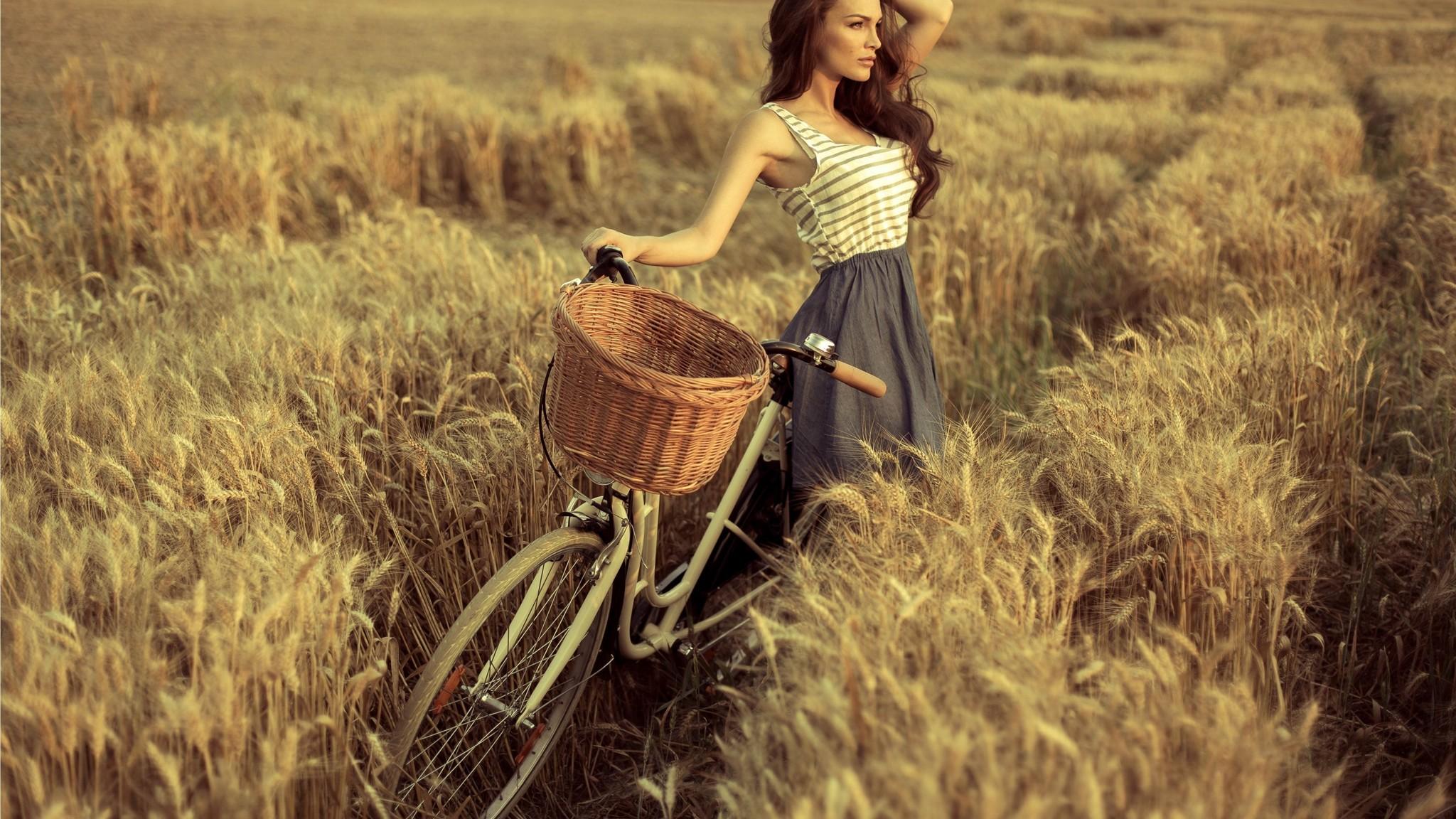 Hình ảnh xe đạp đẹp cho nữ