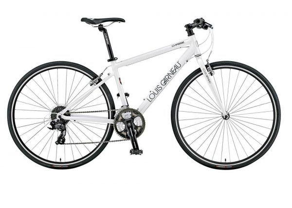 Xe đạp touring Louis Garneau trắng